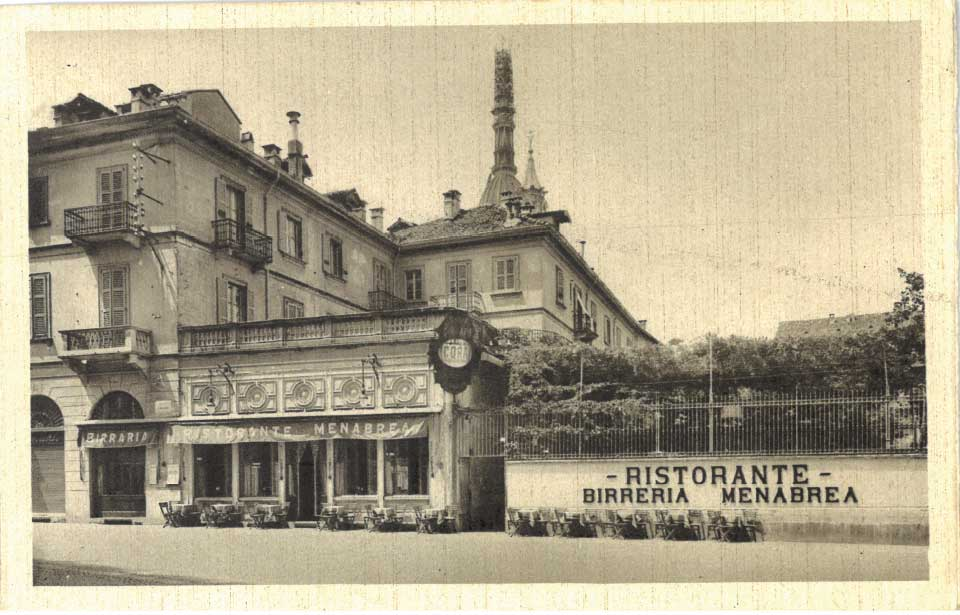 GRAND RESTAURANT MENABREA IN NOVARA